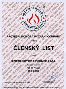 Certifikát PKPO